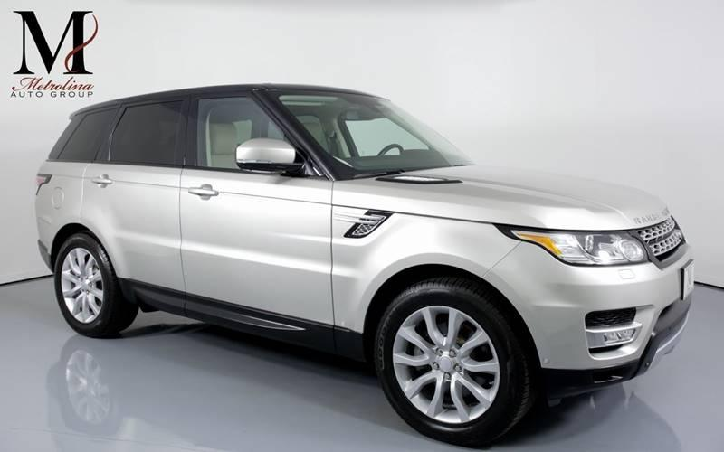 Used 2015 Land Rover Range Rover Sport HSE 4x4 4dr SUV for sale Sold at Metrolina Auto Group in Charlotte NC 28217 - 1