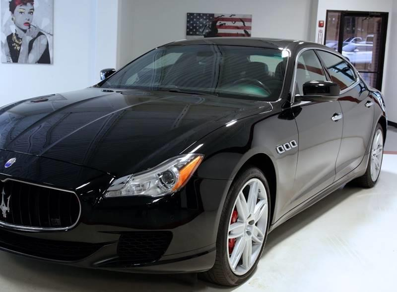 Used 2015 Maserati Quattroporte S Q4 AWD 4dr Sedan for sale Sold at Metrolina Auto Group in Charlotte NC 28217 - 4
