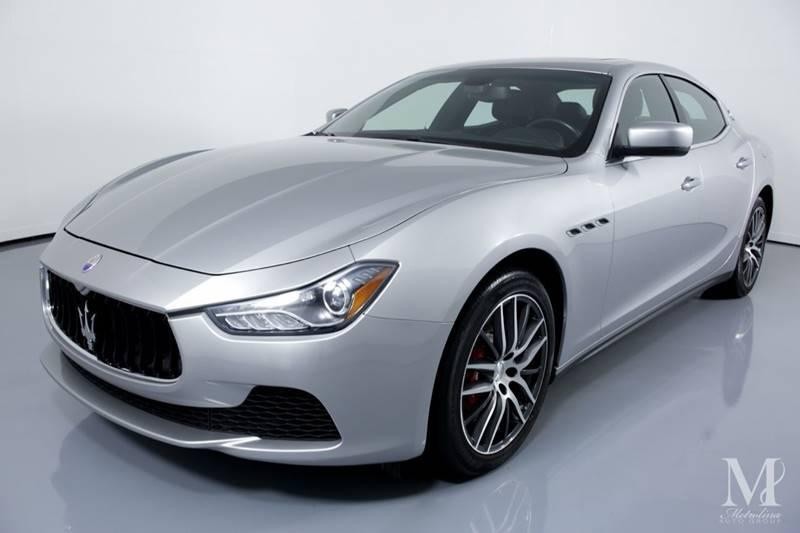Used 2015 Maserati Ghibli Base 4dr Sedan for sale Sold at Metrolina Auto Group in Charlotte NC 28217 - 4
