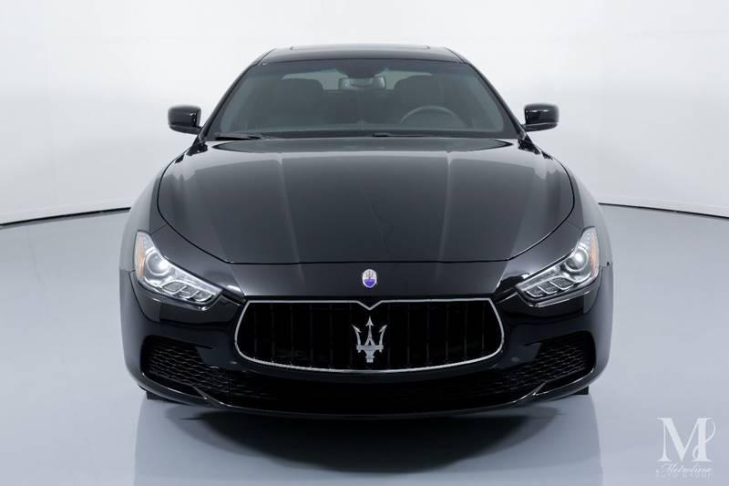 Used 2016 Maserati Ghibli Base 4dr Sedan for sale Sold at Metrolina Auto Group in Charlotte NC 28217 - 3