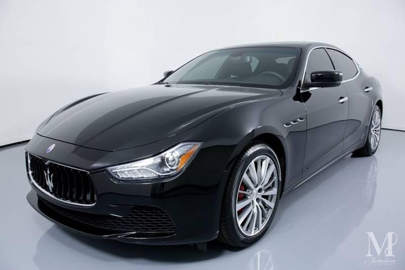 Used 2016 Maserati Ghibli Base 4dr Sedan for sale Sold at Metrolina Auto Group in Charlotte NC 28217 - 4