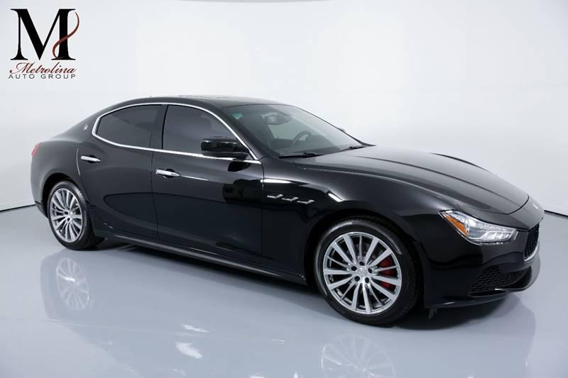 Used 2016 Maserati Ghibli Base 4dr Sedan for sale Sold at Metrolina Auto Group in Charlotte NC 28217 - 1