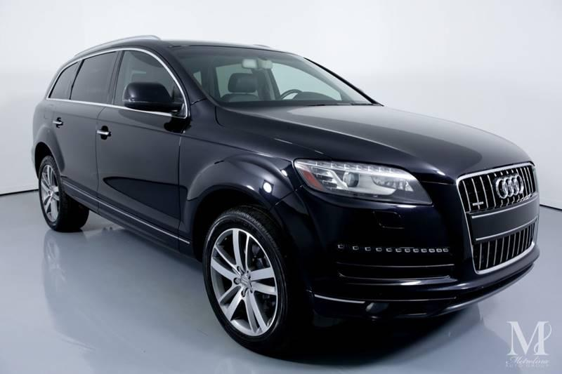 Used 2011 Audi Q7 3.0 quattro TDI Premium Plus AWD 4dr SUV for sale Sold at Metrolina Auto Group in Charlotte NC 28217 - 2