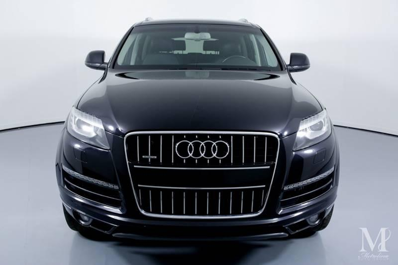 Used 2011 Audi Q7 3.0 quattro TDI Premium Plus AWD 4dr SUV for sale Sold at Metrolina Auto Group in Charlotte NC 28217 - 3