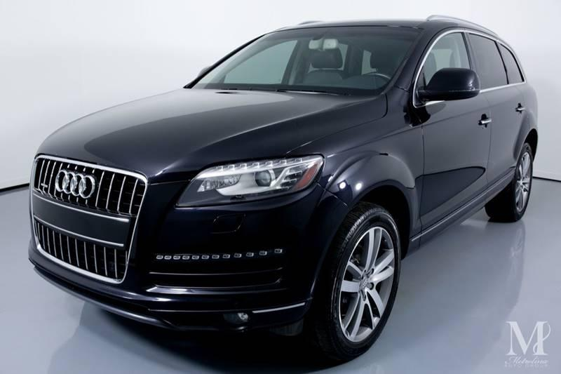 Used 2011 Audi Q7 3.0 quattro TDI Premium Plus AWD 4dr SUV for sale Sold at Metrolina Auto Group in Charlotte NC 28217 - 4