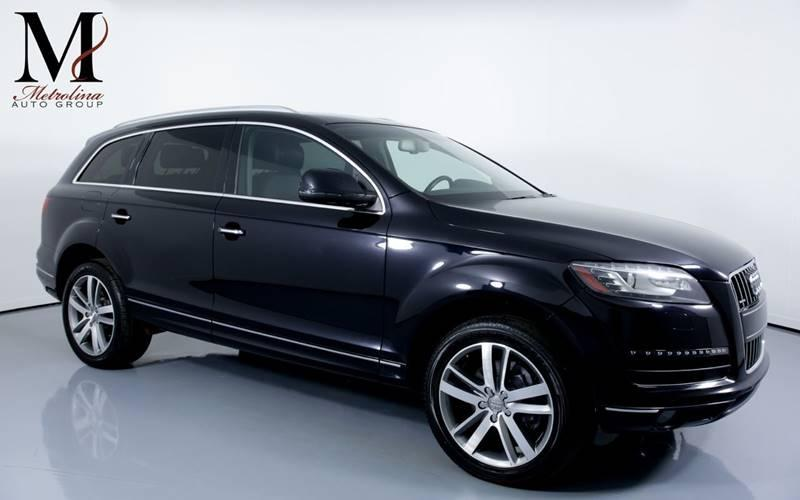 Used 2011 Audi Q7 3.0 quattro TDI Premium Plus AWD 4dr SUV for sale Sold at Metrolina Auto Group in Charlotte NC 28217 - 1