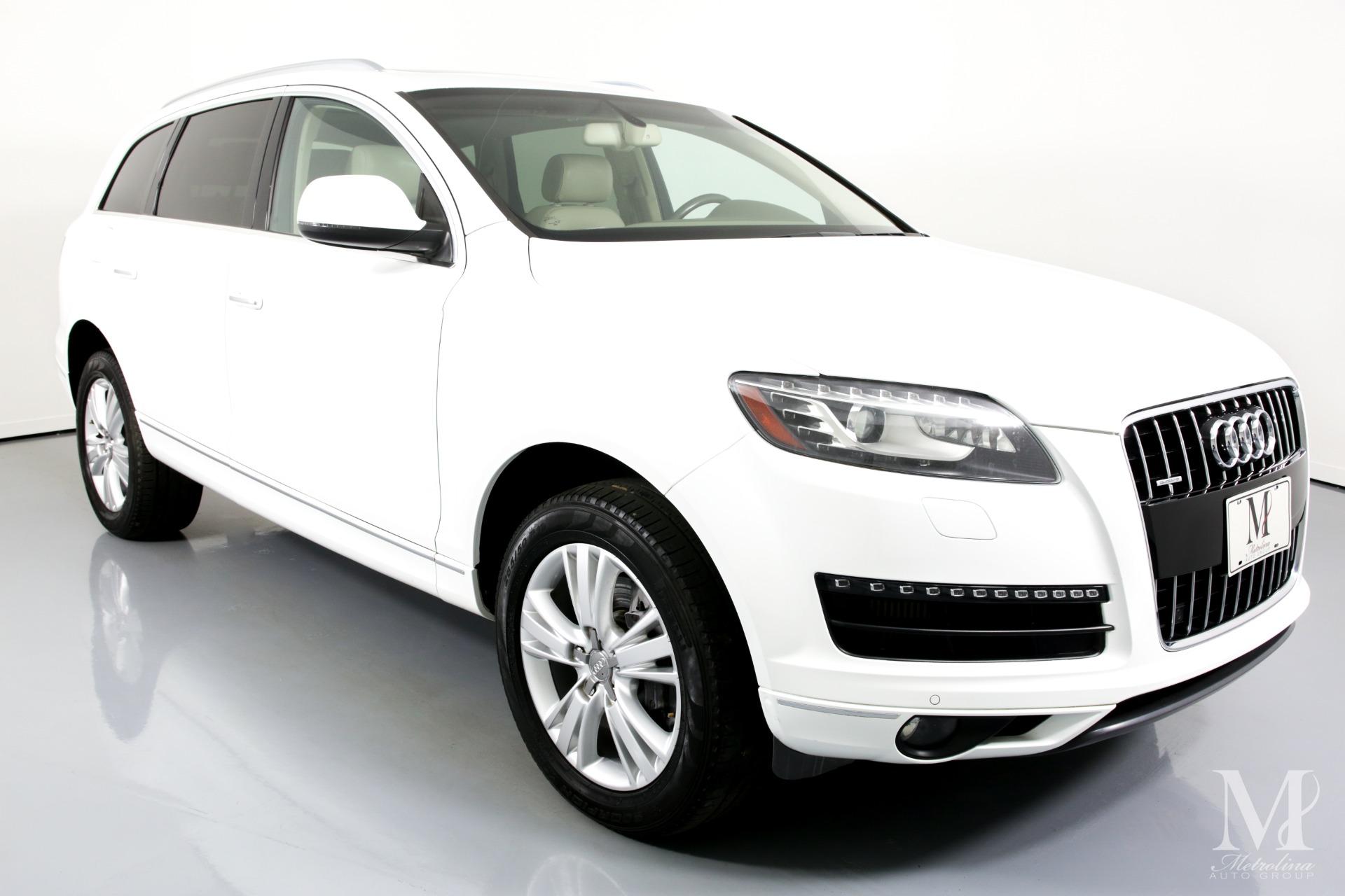 Used 2011 Audi Q7 3.0 quattro TDI Premium Plus AWD 4dr SUV for sale $16,456 at Metrolina Auto Group in Charlotte NC 28217 - 2