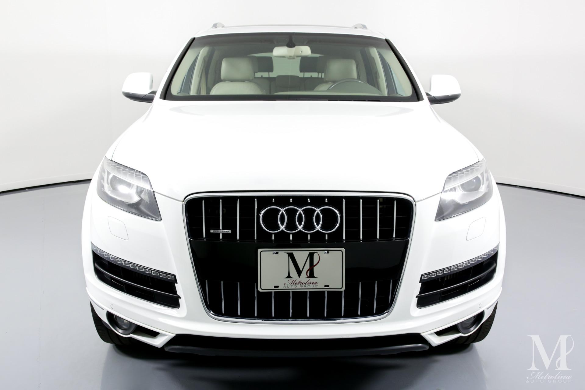 Used 2011 Audi Q7 3.0 quattro TDI Premium Plus AWD 4dr SUV for sale $16,456 at Metrolina Auto Group in Charlotte NC 28217 - 3