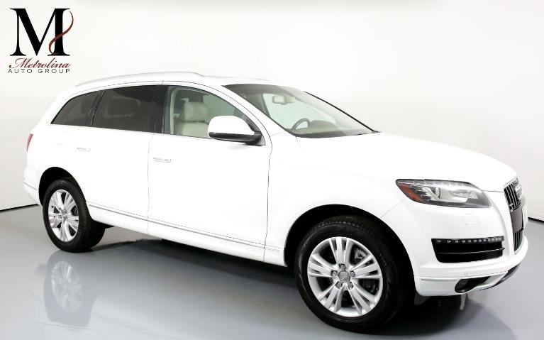 Used Used 2011 Audi Q7 3.0 quattro TDI Premium Plus AWD 4dr SUV for sale $15,996 at Metrolina Auto Group in Charlotte NC