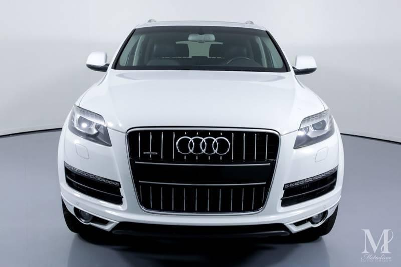 Used 2012 Audi Q7 3.0 quattro TDI Prestige AWD 4dr SUV for sale Sold at Metrolina Auto Group in Charlotte NC 28217 - 3