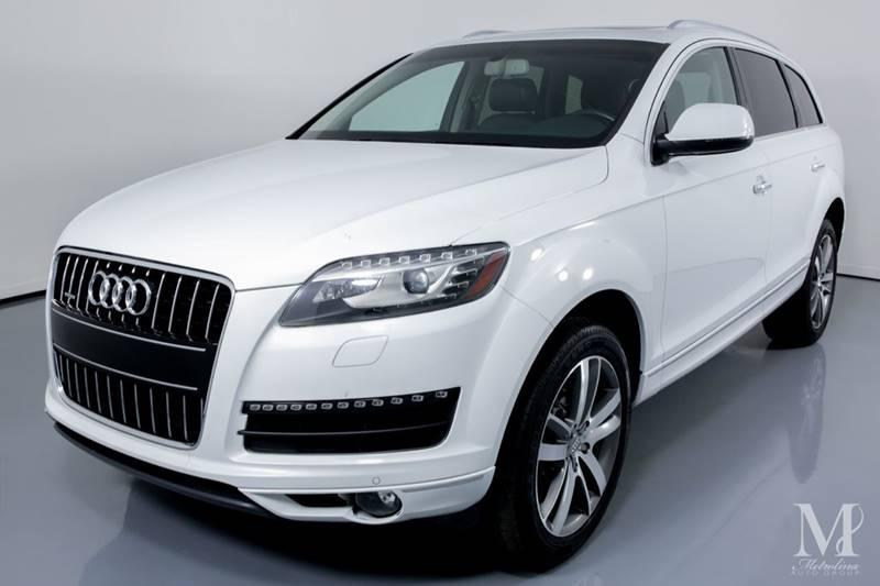 Used 2012 Audi Q7 3.0 quattro TDI Prestige AWD 4dr SUV for sale Sold at Metrolina Auto Group in Charlotte NC 28217 - 4