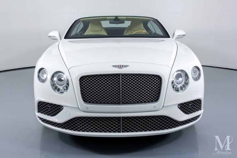 Used 2016 Bentley Continental GT V8 AWD 2dr Coupe for sale Sold at Metrolina Auto Group in Charlotte NC 28217 - 3