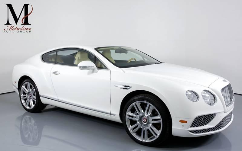 Used 2016 Bentley Continental GT V8 AWD 2dr Coupe for sale Sold at Metrolina Auto Group in Charlotte NC 28217 - 1