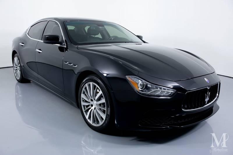 Used 2015 Maserati Ghibli Base 4dr Sedan for sale Sold at Metrolina Auto Group in Charlotte NC 28217 - 2