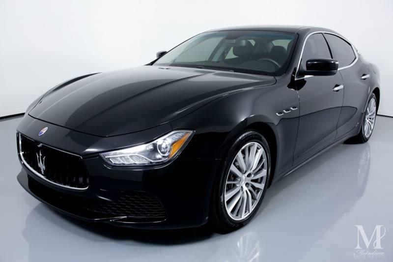 Used 2015 Maserati Ghibli Base 4dr Sedan for sale Sold at Metrolina Auto Group in Charlotte NC 28217 - 4