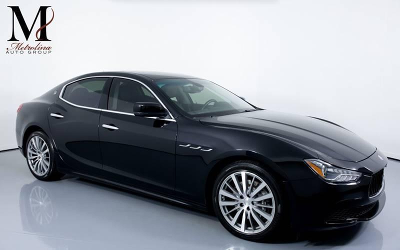 Used 2015 Maserati Ghibli Base 4dr Sedan for sale Sold at Metrolina Auto Group in Charlotte NC 28217 - 1