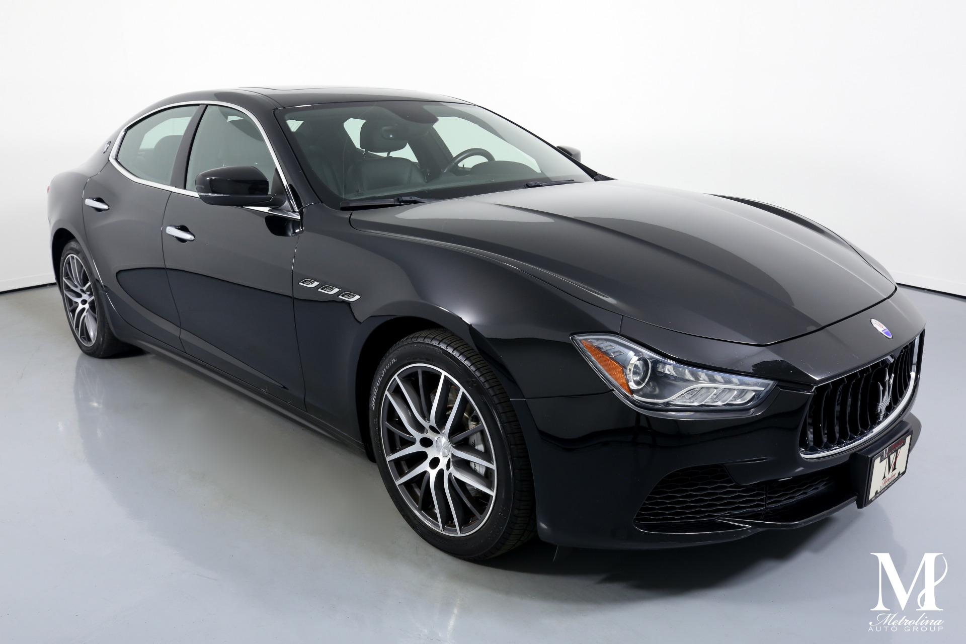 Used 2017 Maserati Ghibli Base 4dr Sedan for sale Sold at Metrolina Auto Group in Charlotte NC 28217 - 2