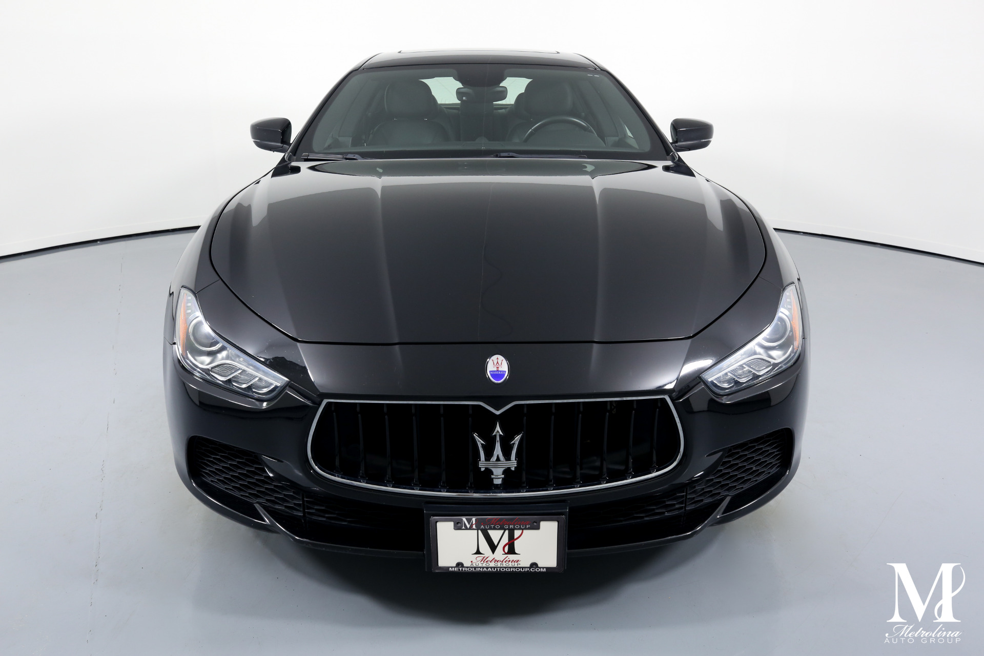 Used 2017 Maserati Ghibli Base 4dr Sedan for sale Sold at Metrolina Auto Group in Charlotte NC 28217 - 3
