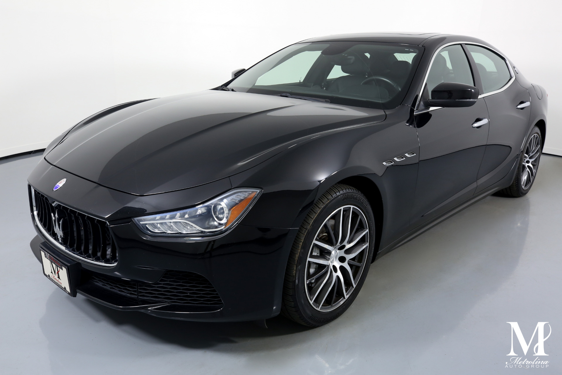 Used 2017 Maserati Ghibli Base 4dr Sedan for sale Sold at Metrolina Auto Group in Charlotte NC 28217 - 4