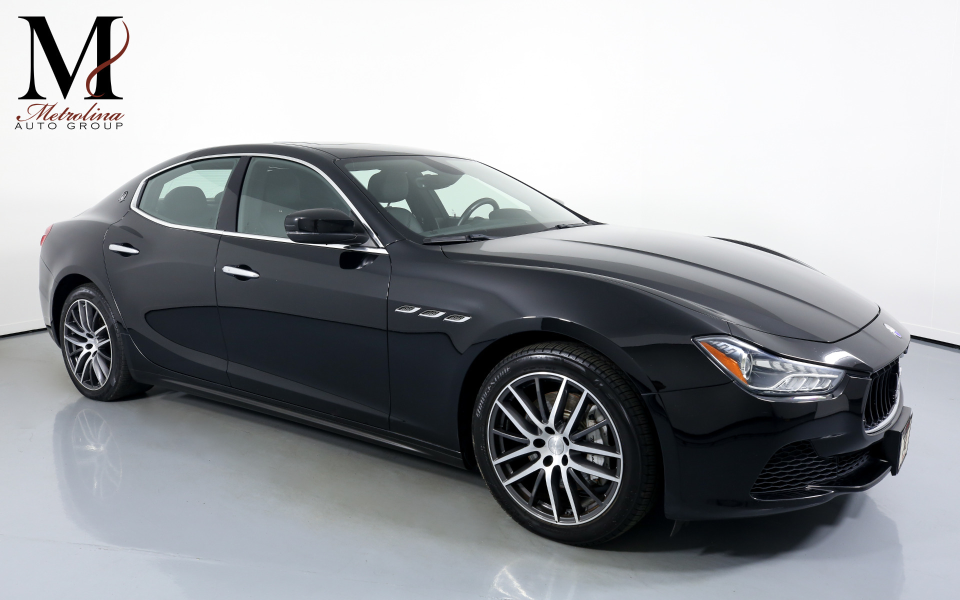 Used 2017 Maserati Ghibli Base 4dr Sedan for sale Sold at Metrolina Auto Group in Charlotte NC 28217 - 1