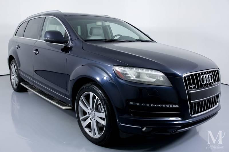 Used 2012 Audi Q7 3.0 quattro TDI Prestige AWD 4dr SUV for sale Sold at Metrolina Auto Group in Charlotte NC 28217 - 2
