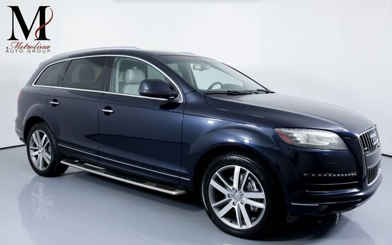 Used 2012 Audi Q7 3.0 quattro TDI Prestige AWD 4dr SUV for sale Sold at Metrolina Auto Group in Charlotte NC 28217 - 1