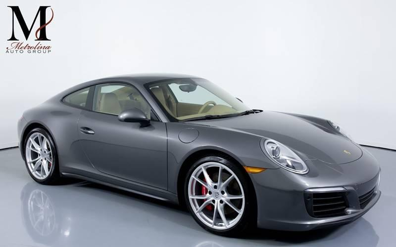 Used 2017 Porsche 911 Carrera 4S AWD 2dr Coupe for sale Sold at Metrolina Auto Group in Charlotte NC 28217 - 1