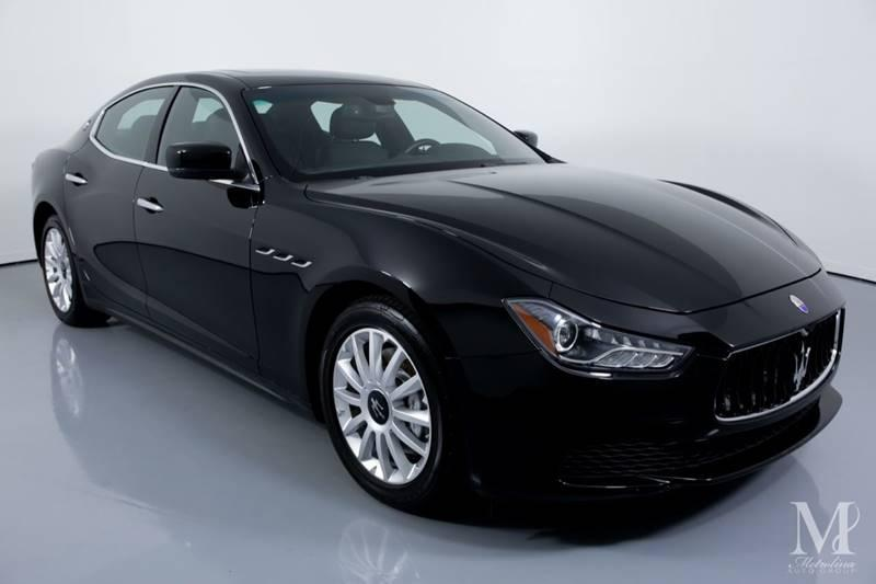 Used 2014 Maserati Ghibli Base 4dr Sedan for sale Sold at Metrolina Auto Group in Charlotte NC 28217 - 2