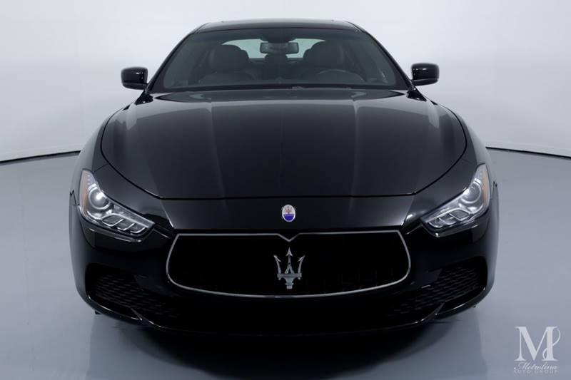 Used 2014 Maserati Ghibli Base 4dr Sedan for sale Sold at Metrolina Auto Group in Charlotte NC 28217 - 3