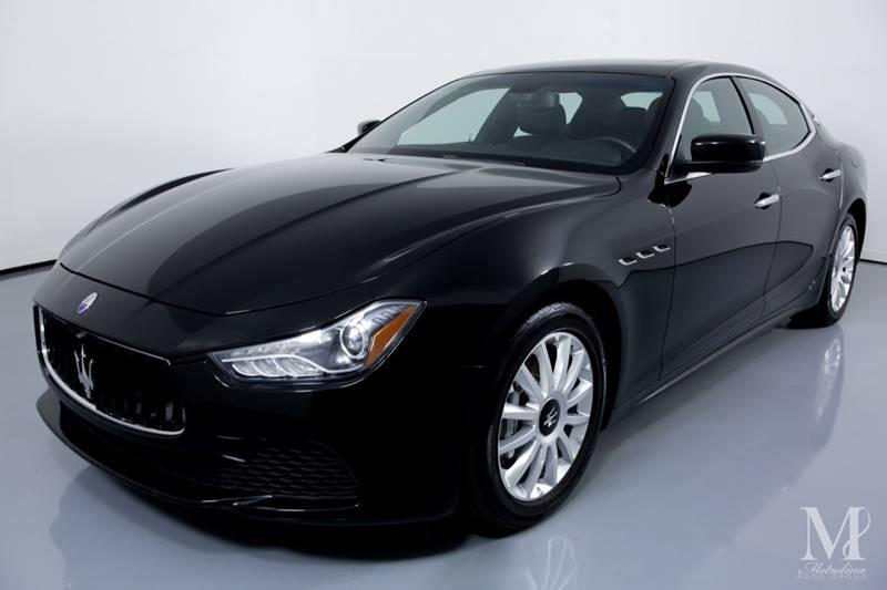 Used 2014 Maserati Ghibli Base 4dr Sedan for sale Sold at Metrolina Auto Group in Charlotte NC 28217 - 4