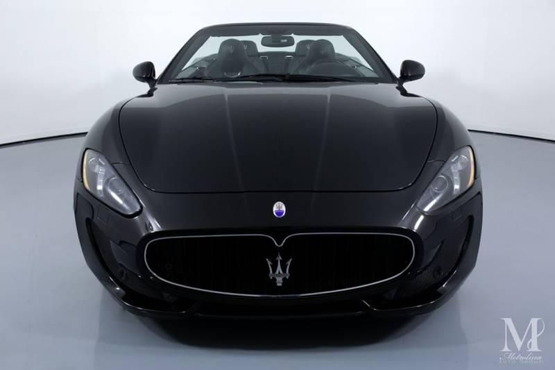 Used 2014 Maserati GranTurismo Sport 2dr Convertible for sale Sold at Metrolina Auto Group in Charlotte NC 28217 - 4
