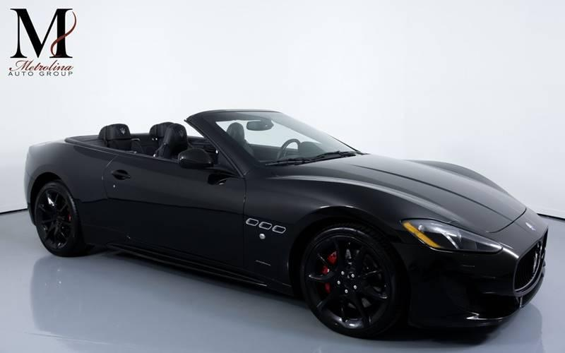 Used 2014 Maserati GranTurismo Sport 2dr Convertible for sale Sold at Metrolina Auto Group in Charlotte NC 28217 - 1