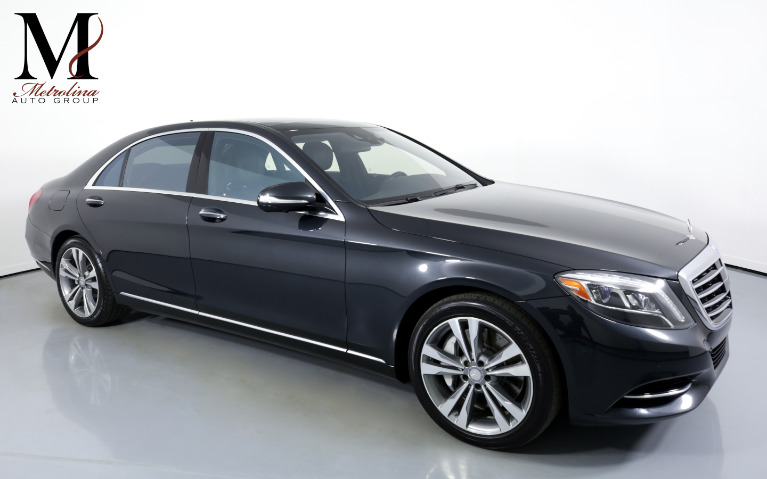 Used Used 2016 Mercedes-Benz S-Class S 550 4dr Sedan for sale $39,996 at Metrolina Auto Group in Charlotte NC