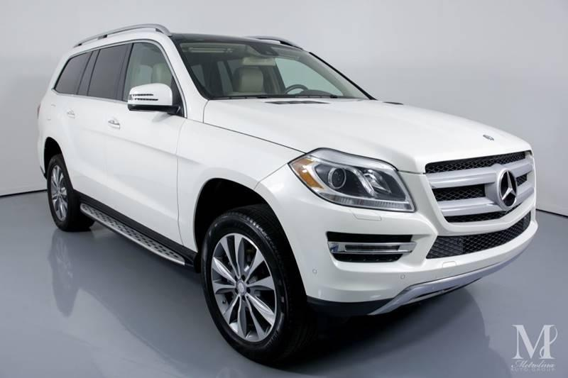 Used 2015 Mercedes-Benz GL-Class GL 450 4MATIC AWD 4dr SUV for sale Sold at Metrolina Auto Group in Charlotte NC 28217 - 2