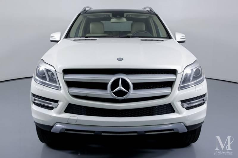 Used 2015 Mercedes-Benz GL-Class GL 450 4MATIC AWD 4dr SUV for sale Sold at Metrolina Auto Group in Charlotte NC 28217 - 3
