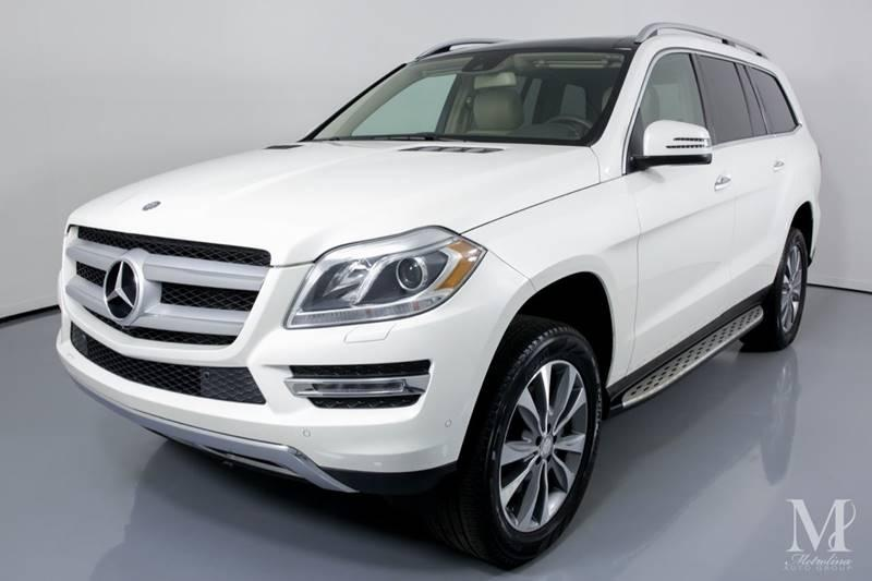 Used 2015 Mercedes-Benz GL-Class GL 450 4MATIC AWD 4dr SUV for sale Sold at Metrolina Auto Group in Charlotte NC 28217 - 4