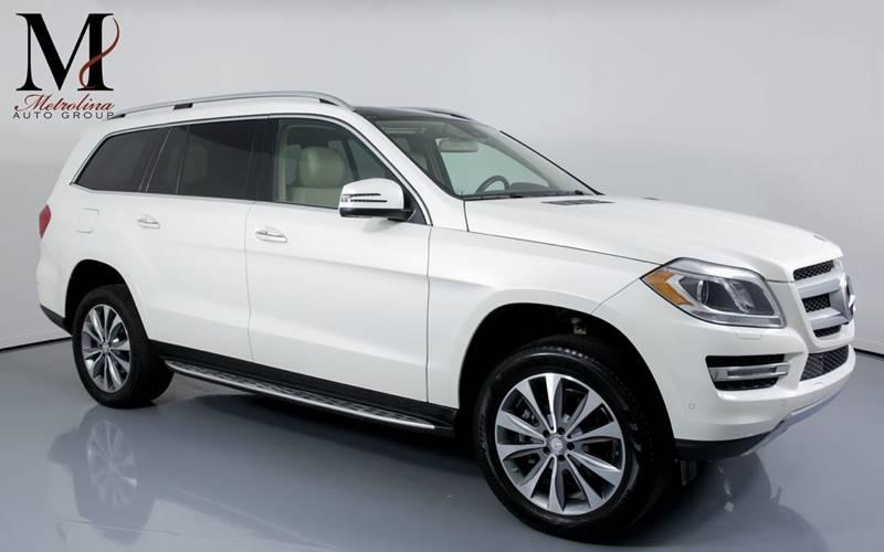 Used 2015 Mercedes-Benz GL-Class GL 450 4MATIC AWD 4dr SUV for sale Sold at Metrolina Auto Group in Charlotte NC 28217 - 1
