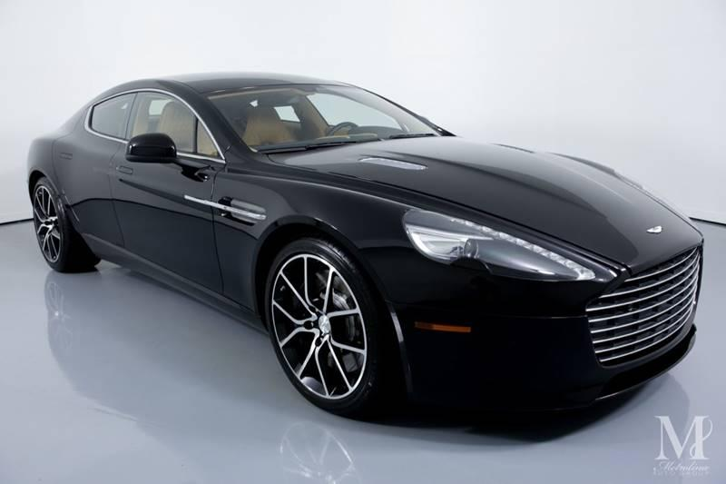 Used 2015 Aston Martin Rapide S Base 4dr Sedan for sale Sold at Metrolina Auto Group in Charlotte NC 28217 - 2
