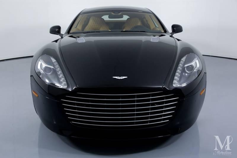 Used 2015 Aston Martin Rapide S Base 4dr Sedan for sale Sold at Metrolina Auto Group in Charlotte NC 28217 - 3