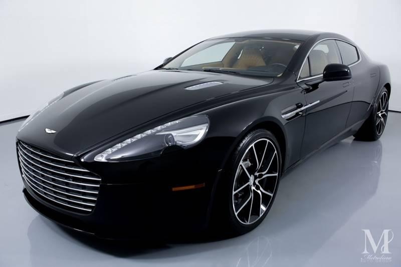 Used 2015 Aston Martin Rapide S Base 4dr Sedan for sale Sold at Metrolina Auto Group in Charlotte NC 28217 - 4