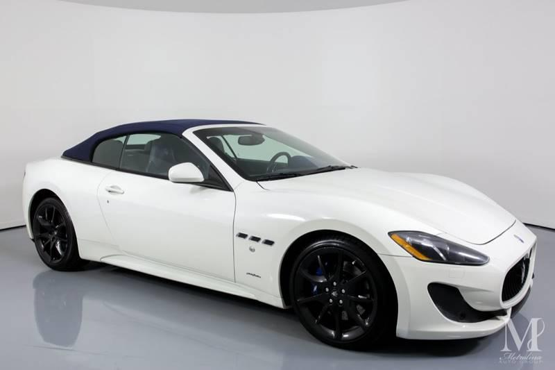 Used 2014 Maserati GranTurismo Sport 2dr Convertible for sale Sold at Metrolina Auto Group in Charlotte NC 28217 - 2