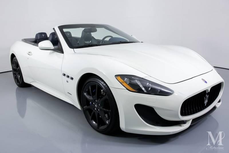 Used 2014 Maserati GranTurismo Sport 2dr Convertible for sale Sold at Metrolina Auto Group in Charlotte NC 28217 - 3
