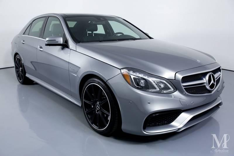 Used 2014 Mercedes-Benz E-Class E 63 AMG AWD 4MATIC 4dr Sedan for sale Sold at Metrolina Auto Group in Charlotte NC 28217 - 2