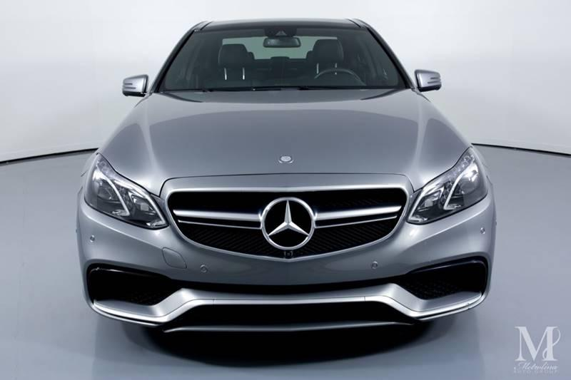 Used 2014 Mercedes-Benz E-Class E 63 AMG AWD 4MATIC 4dr Sedan for sale Sold at Metrolina Auto Group in Charlotte NC 28217 - 3