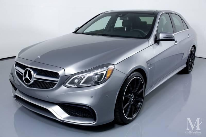 Used 2014 Mercedes-Benz E-Class E 63 AMG AWD 4MATIC 4dr Sedan for sale Sold at Metrolina Auto Group in Charlotte NC 28217 - 4