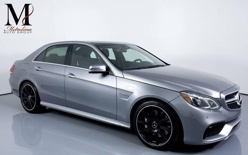 Used 2014 Mercedes-Benz E-Class E 63 AMG AWD 4MATIC 4dr Sedan for sale Sold at Metrolina Auto Group in Charlotte NC 28217 - 1