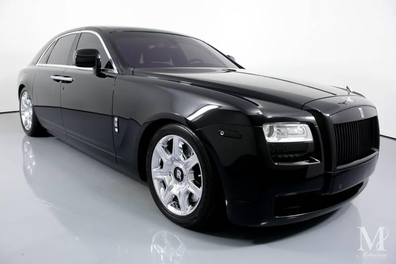 Used 2010 Rolls-Royce Ghost Base 4dr Sedan for sale Sold at Metrolina Auto Group in Charlotte NC 28217 - 2