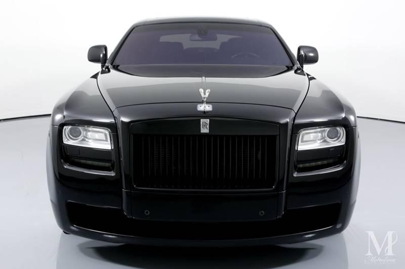 Used 2010 Rolls-Royce Ghost Base 4dr Sedan for sale Sold at Metrolina Auto Group in Charlotte NC 28217 - 3
