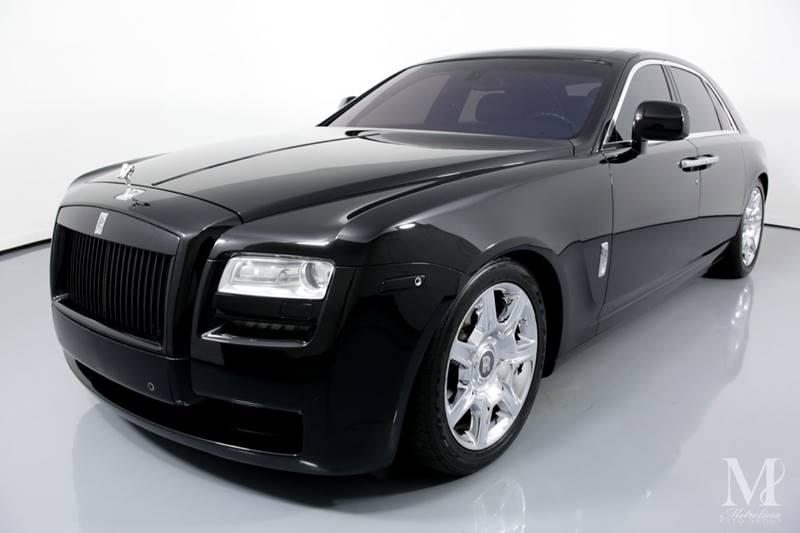 Used 2010 Rolls-Royce Ghost Base 4dr Sedan for sale Sold at Metrolina Auto Group in Charlotte NC 28217 - 4