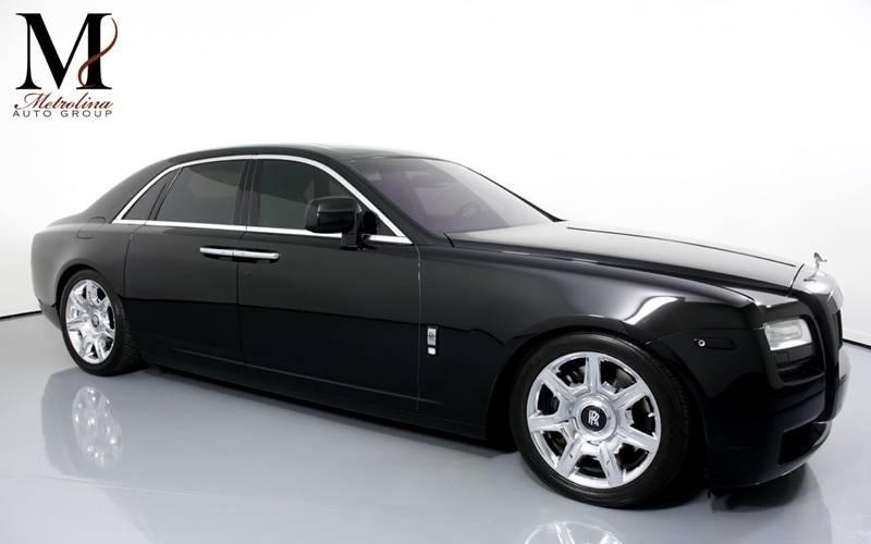 Used 2010 Rolls-Royce Ghost Base 4dr Sedan for sale Sold at Metrolina Auto Group in Charlotte NC 28217 - 1